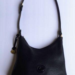 Vintage Black Dooney and Bourke Shoulder Bag